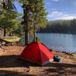 Camping Urlaub mit Zelt